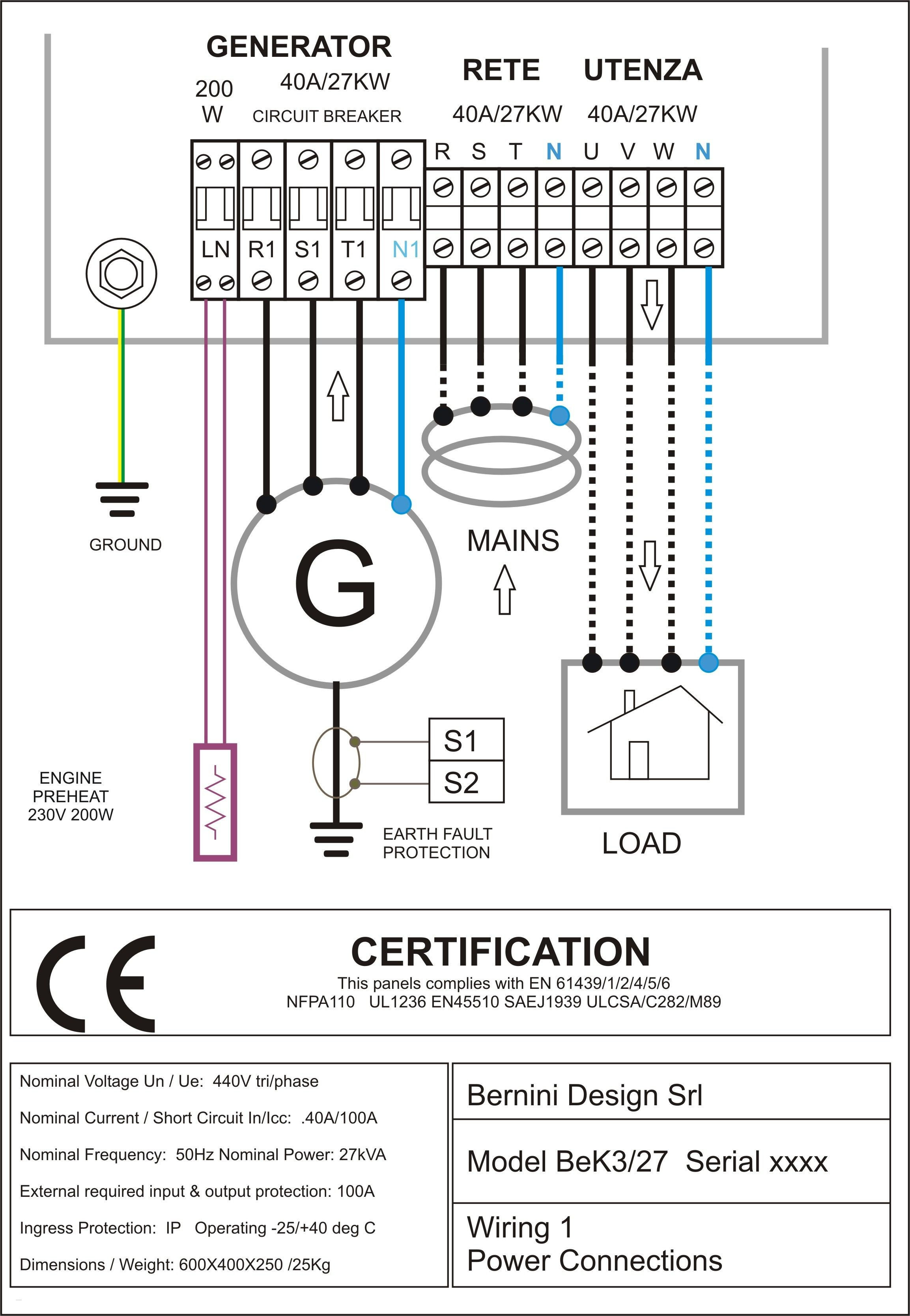 Generator Backfeed Wiring Diagram Fresh Nice 87 Generator Diagram - Generator Backfeed Wiring Diagram