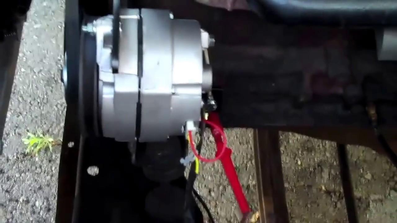 Generator To Alternator Coversion - Youtube - Wiring Diagram Replace Generator With Alternator