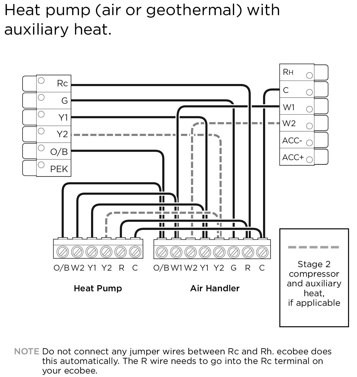 Geothermal Heat Pump Wiring Diagram | Manual E-Books - Heat Pump Wiring Diagram
