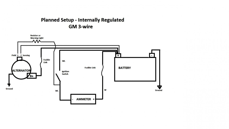 2 Wire Alternator Wiring Diagram | Wiring Diagram