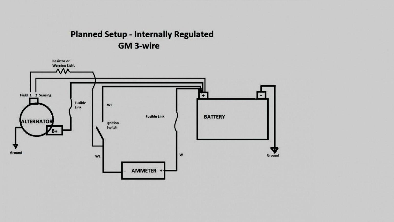 Gm 3 1 Wiring | Wiring Diagram - Gm 1 Wire Alternator Wiring Diagram