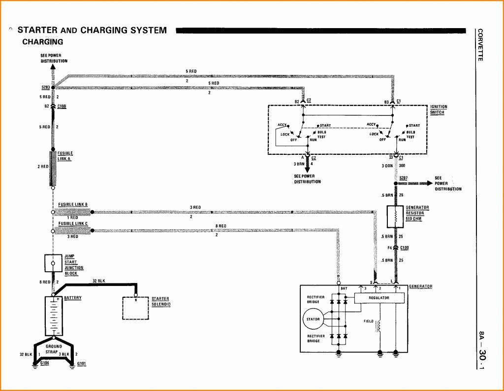 Gm 1 Wire Alternator Wiring Diagram
