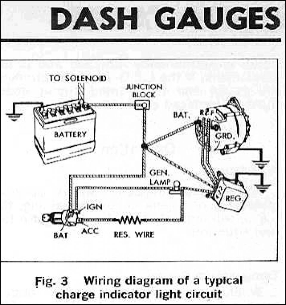 Gm Ammeter Wiring Diagram | Wiring Diagram - Ampere Gauge Wiring Diagram