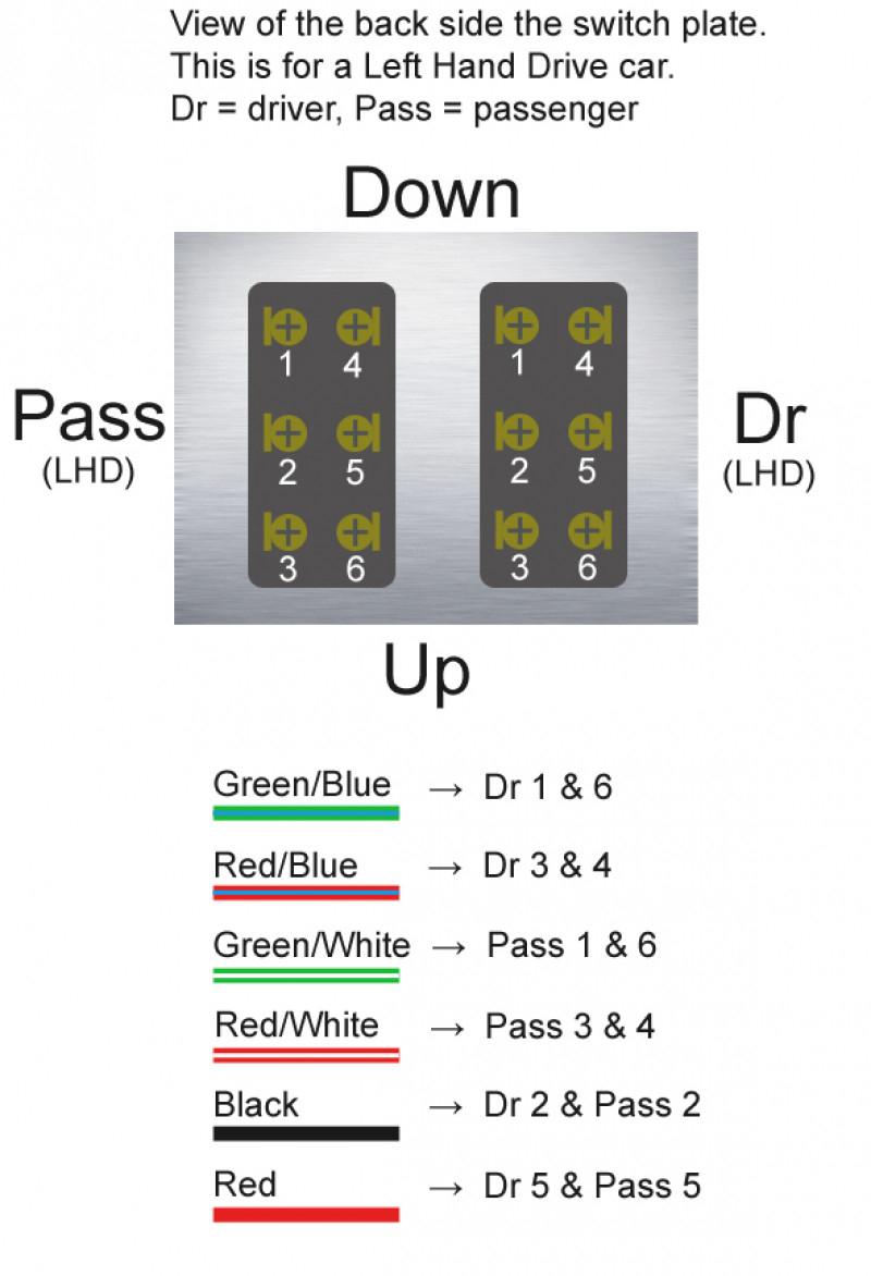 Gm Power Window 5 Pin Switch Wiring Diagram   Wiring Library - 5 Pin Power Window Switch Wiring Diagram