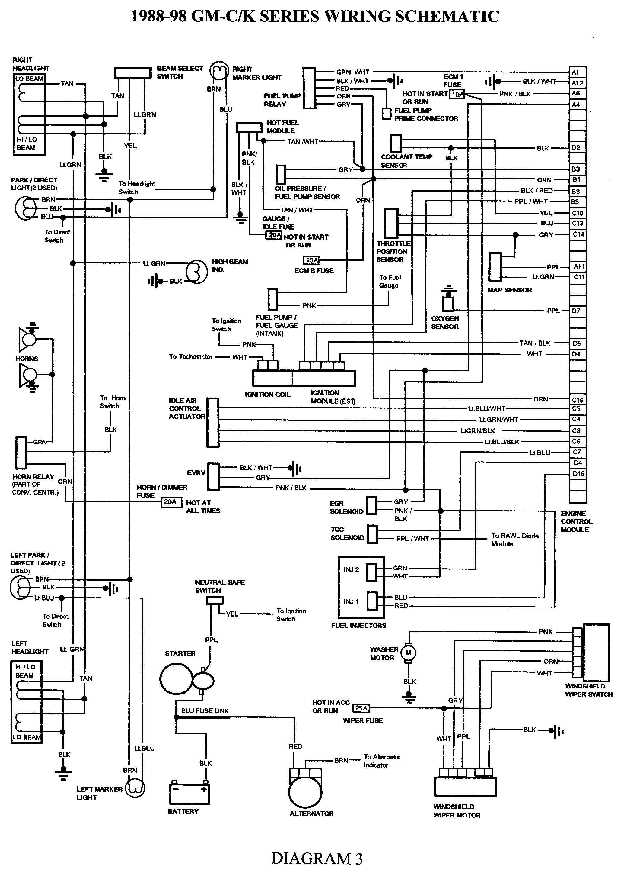 Gmc Wiring Harness - Data Wiring Diagram Schematic - Wiring Harness Diagram