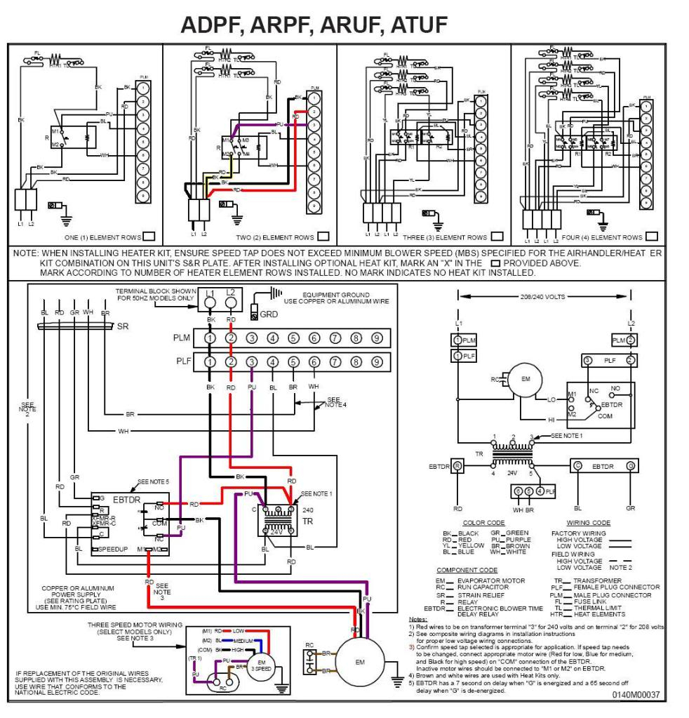 Goodman Air Handler To Thermostat Wiring Diagram   Wiring Diagram - Goodman Air Handler Wiring Diagram