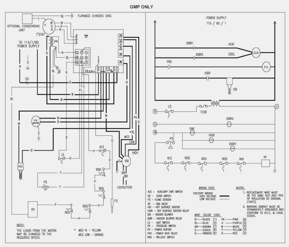 Goodman Control Board Wiring Diagram | Wiring Diagram - Furnace Control Board Wiring Diagram