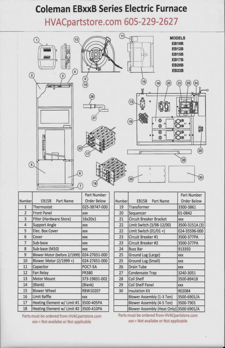 Electric Furnace Sequencer Wiring Diagram