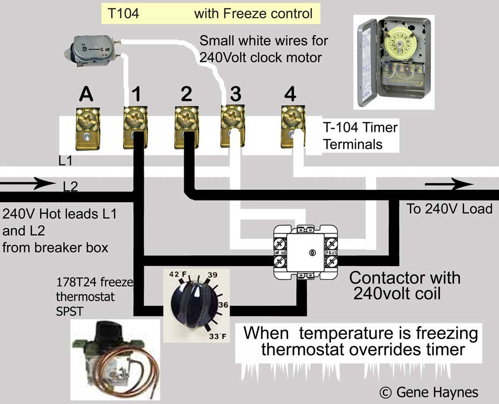 Grasslin Timer Wiring Diagram Free Download | Manual E-Books - Intermatic Pool Timer Wiring Diagram