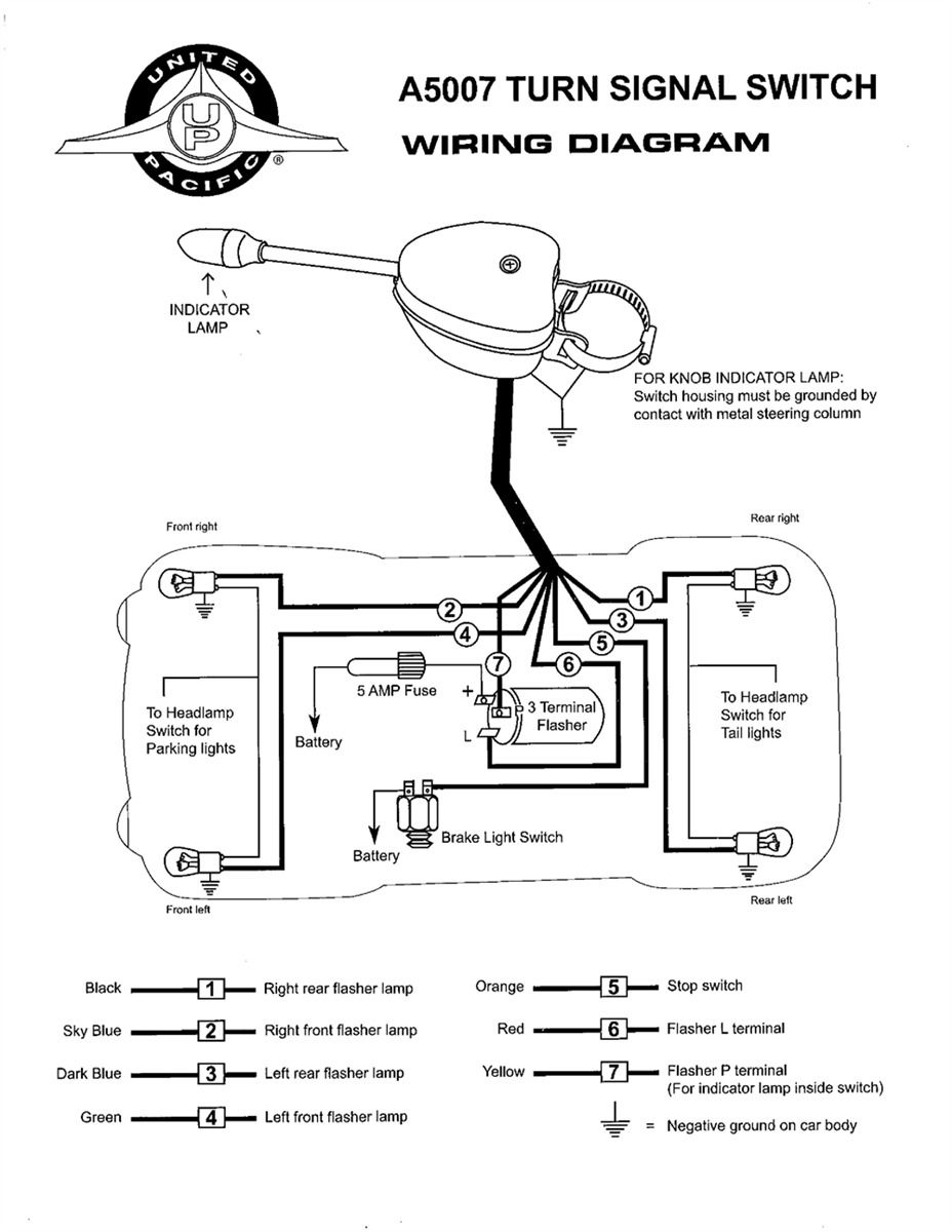 Grote Turn Signal Switch Wiring Diagram | Wiringdiagram - Turn Signal Wiring Diagram