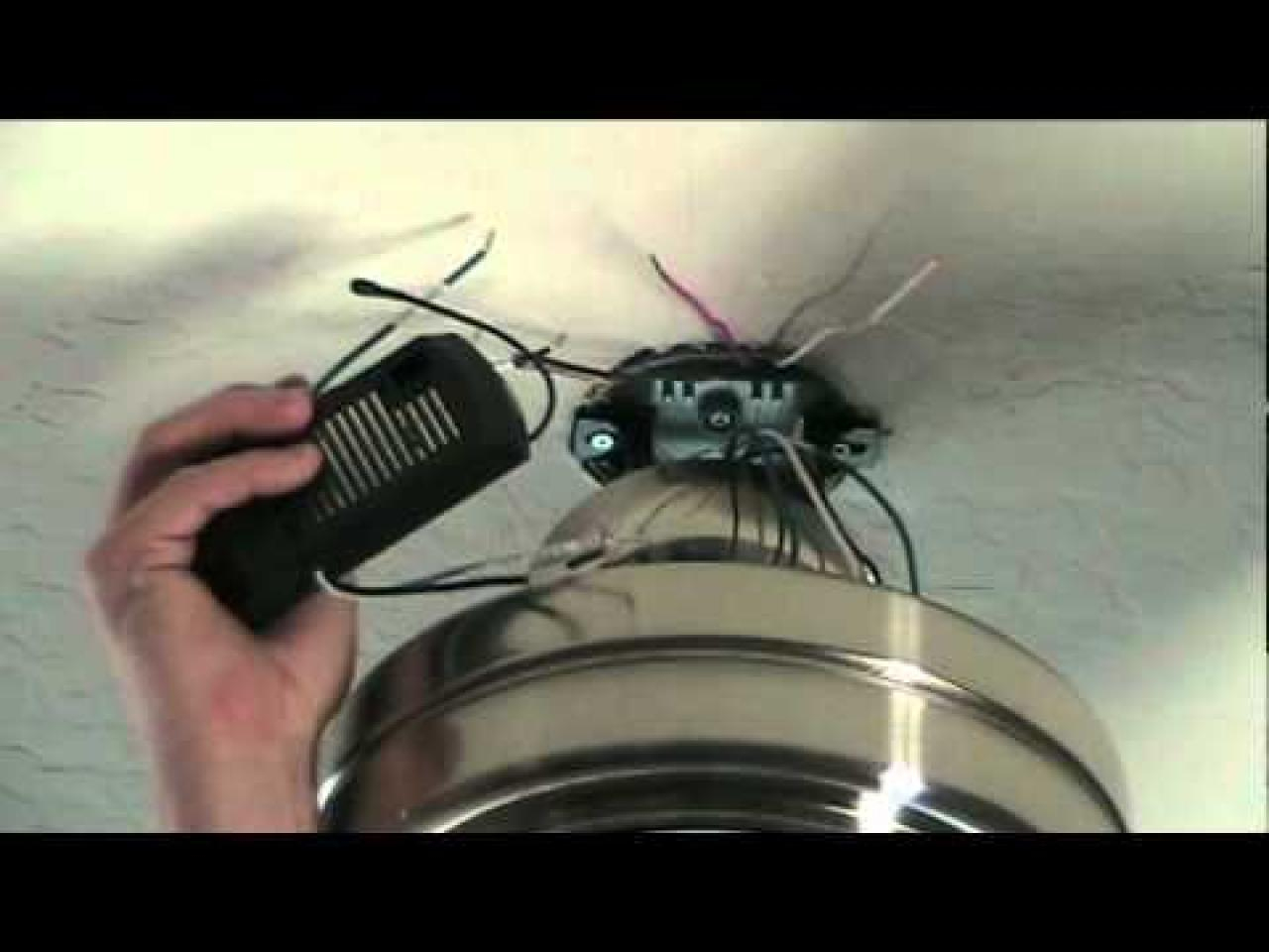 Hunter Ceiling Fan Wiring Diagram With Remote Control