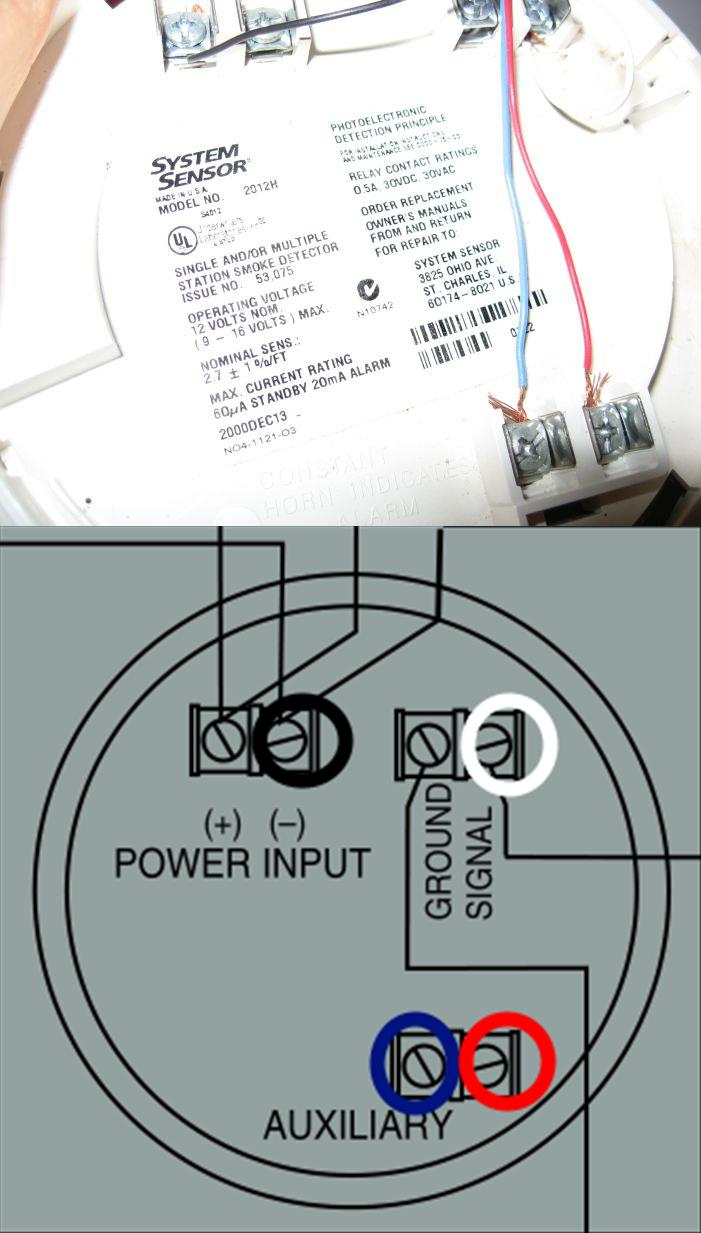 Hard Wire Smoke Detector Wiring Diagram - Data Wiring Diagram Schematic - 2 Wire Smoke Detector Wiring Diagram