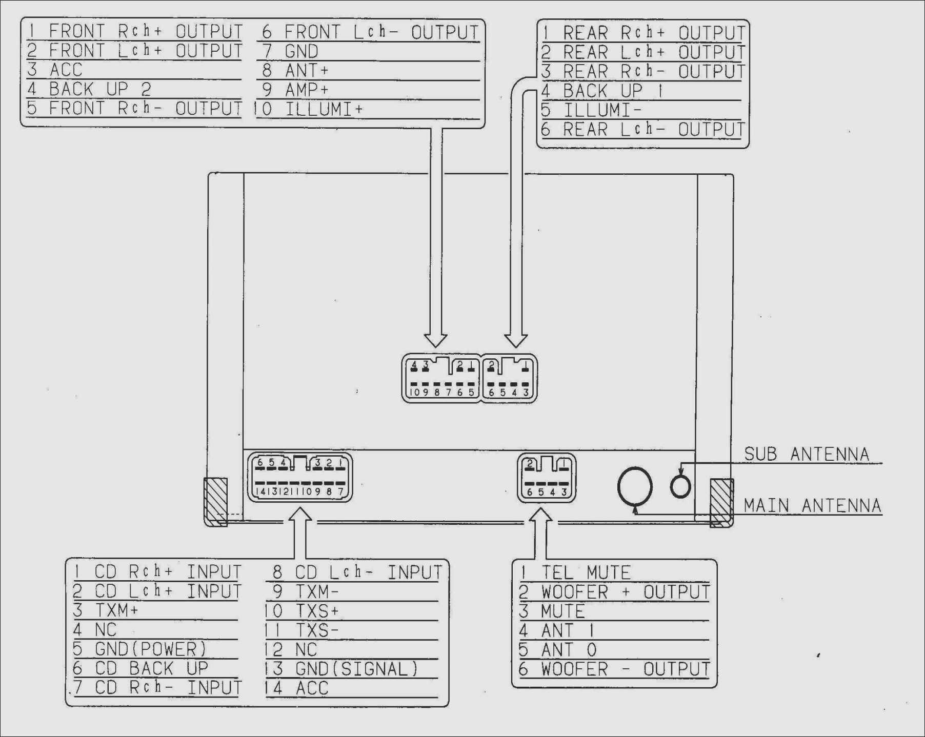 Harness Pioneer Diagram Wiring Avh200Bt | Wiring Diagram - Pioneer Avh-200Bt Wiring Diagram