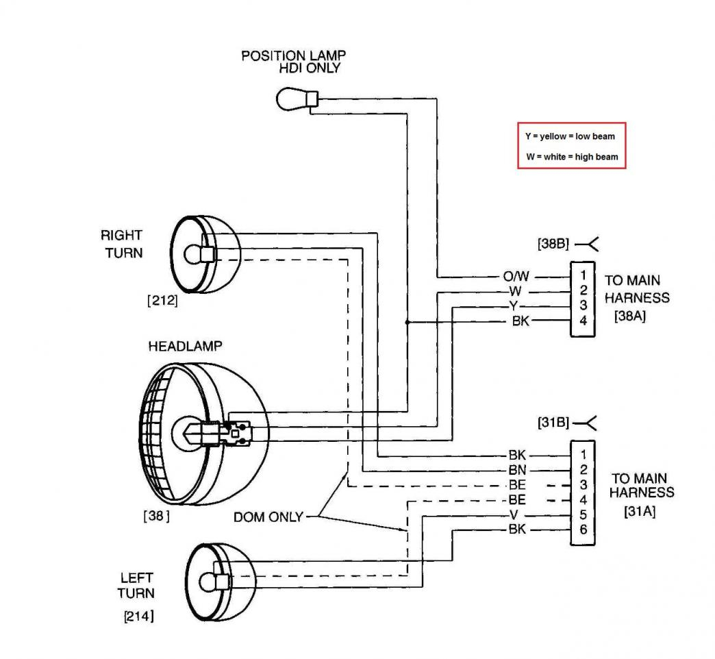 Headlight Wiring Diagram - Deltagenerali - Headlight Wiring Diagram