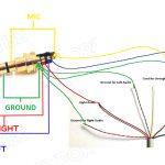 Headphones Volume Controls Do Not Work After 4 Pole Jack Repair   4 Pole 3.5 Mm Jack Wiring Diagram