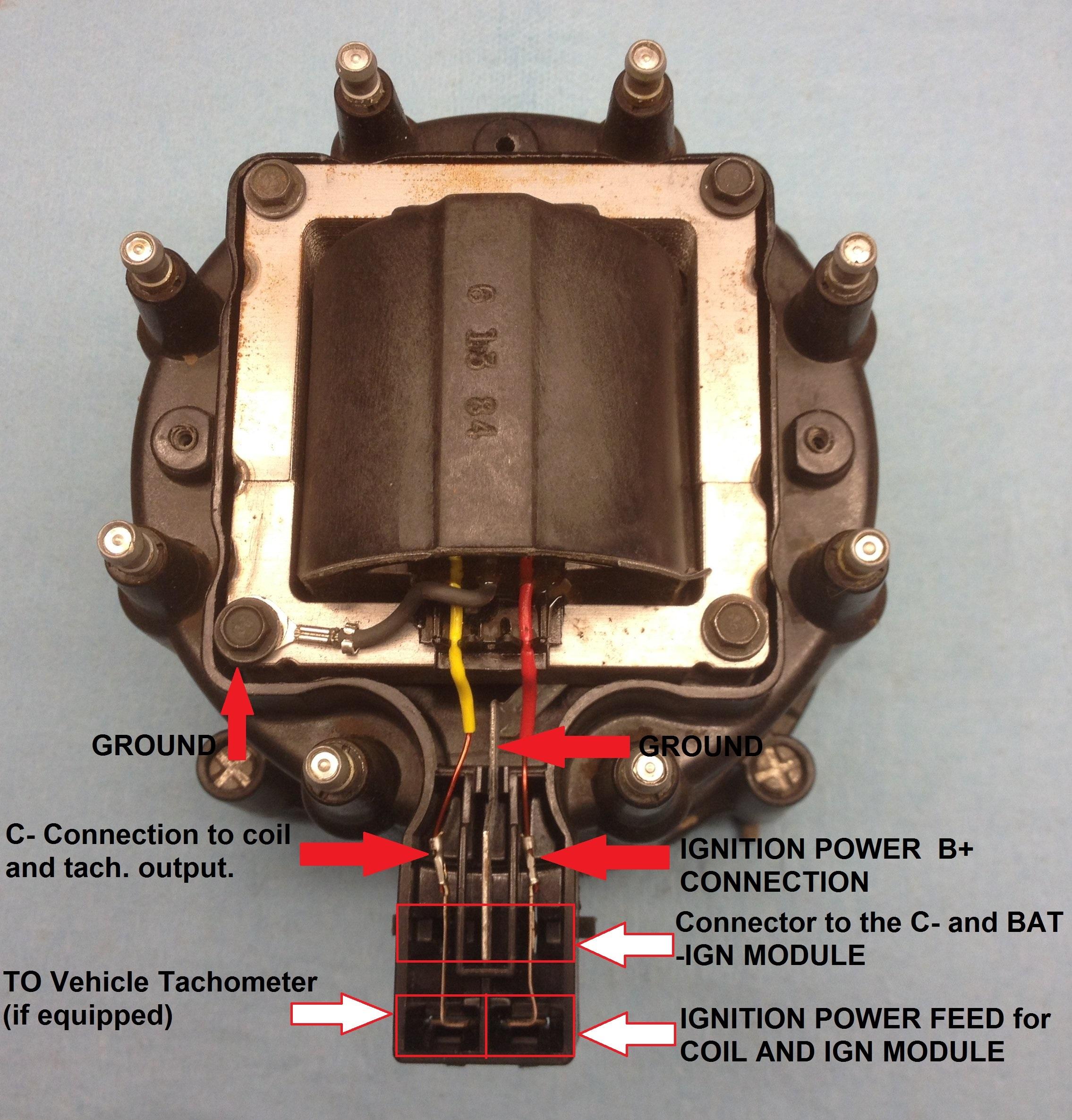 Hei Coil Wiring Diagram | Manual E-Books - Hei Wiring Diagram