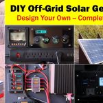 High Capacity Off Grid Solar Generator (Rev 4)    Wiring Diagram   Off Grid Solar System Wiring Diagram