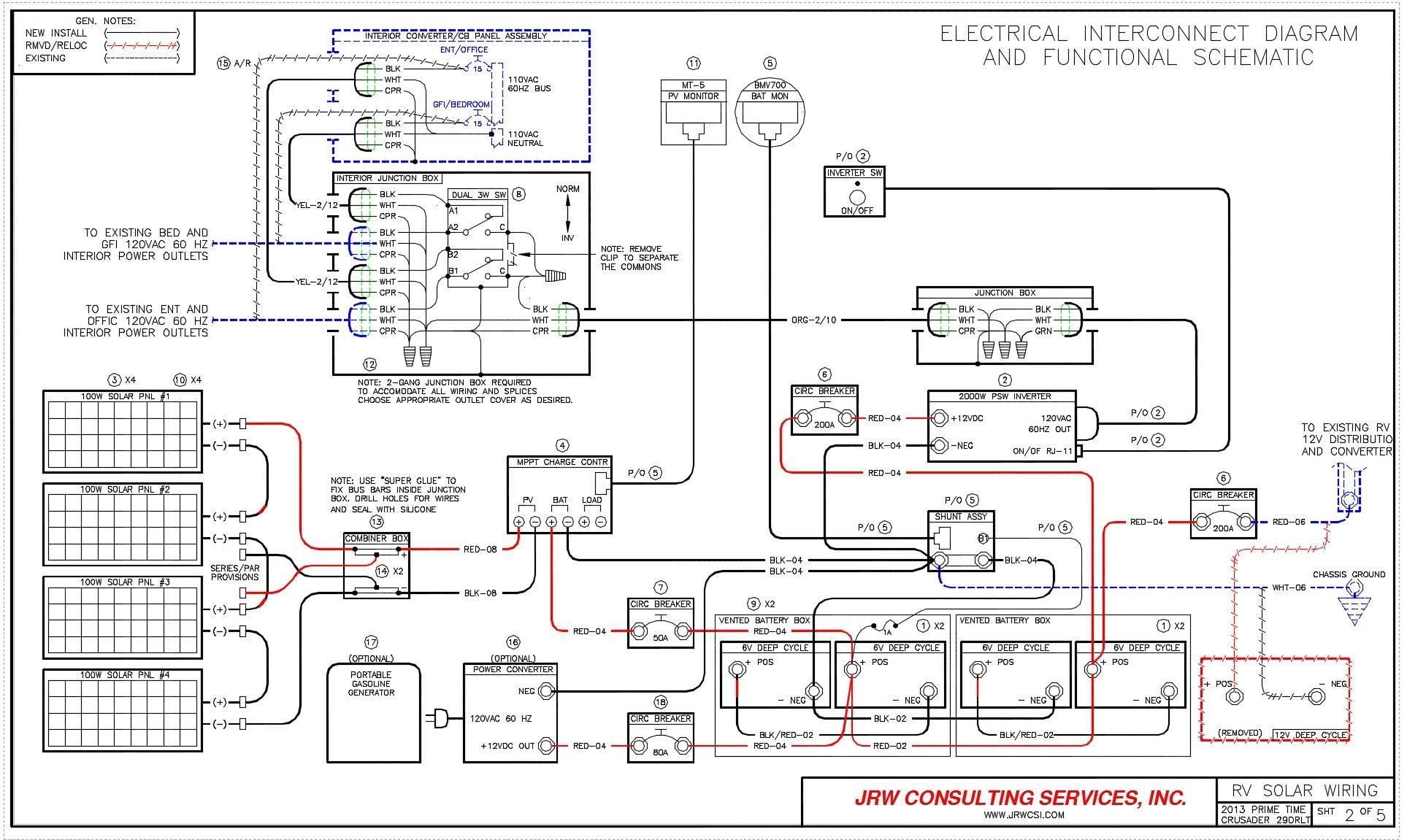 Holiday Rambler Battery Wiring Diagram | Manual E-Books - Holiday Rambler Wiring Diagram
