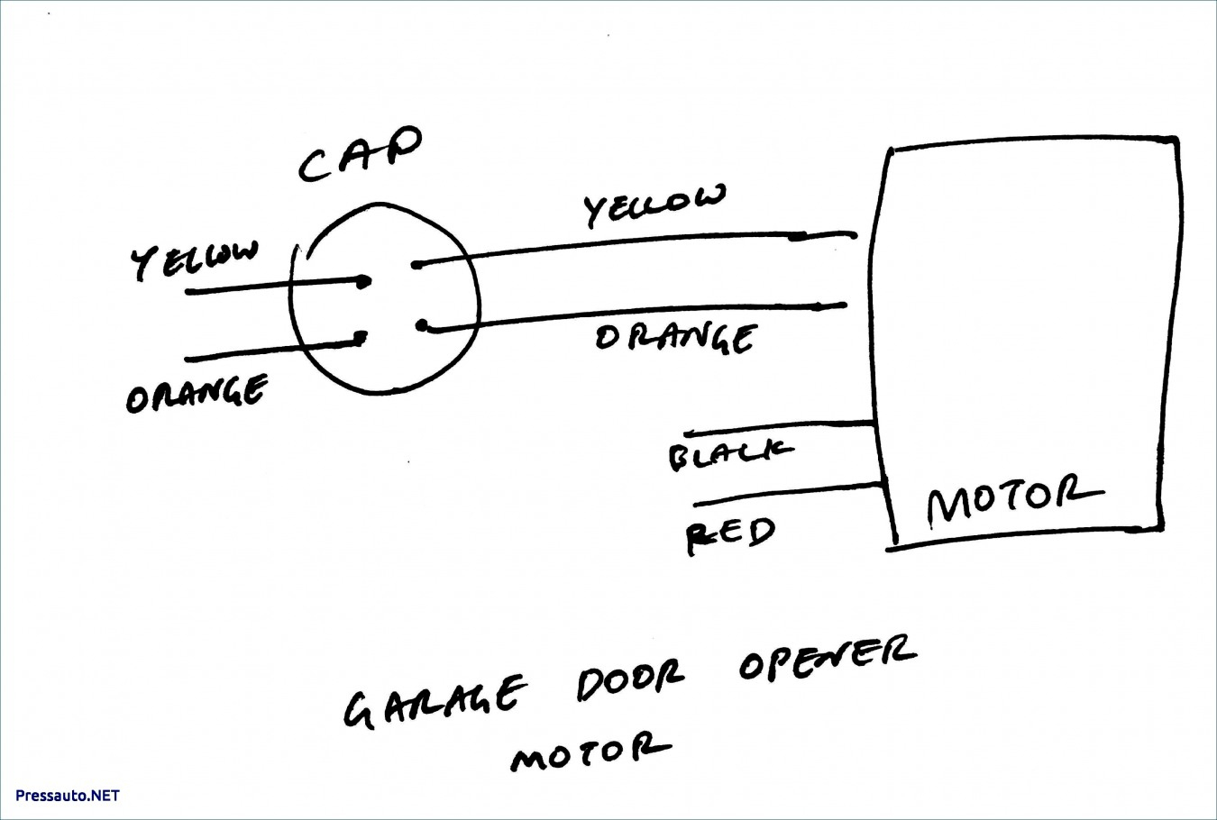 Home Ac Condenser Fan Wiring - All Wiring Diagram Data - 4 Wire Motor Wiring Diagram