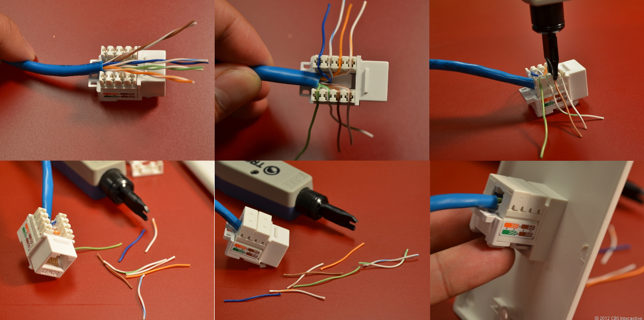 Home Networking Explained, Part 3: Taking Control Of Your Wires - Cnet - Ethernet Wall Socket Wiring Diagram