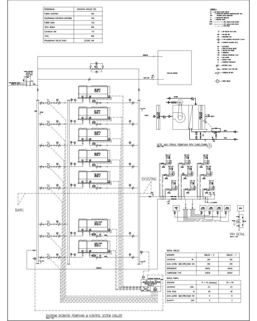 Home Plumbing System  Trane Chiller Piping Diagram  Trane
