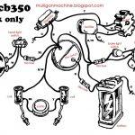 Honda Cb350 Simple Wiring Diagram   Google Search | Useful   Simple Motorcycle Wiring Diagram