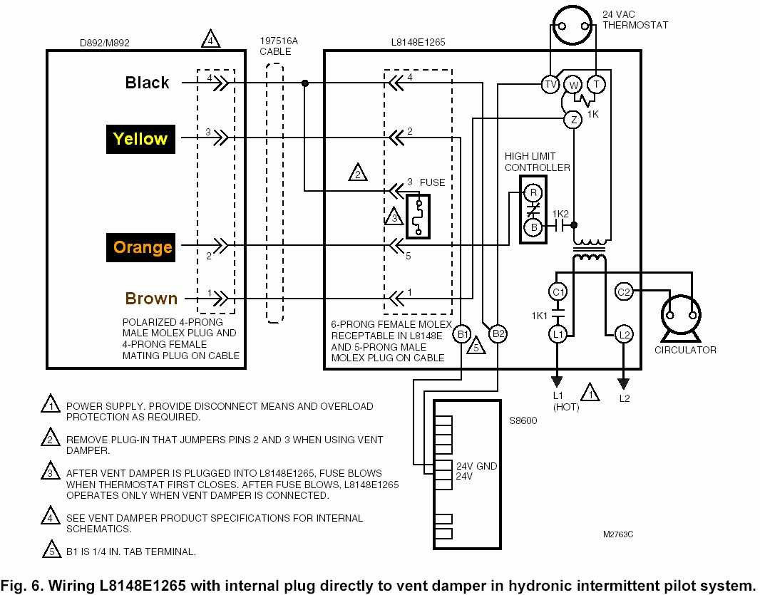 Honeywell Aquastat Relay L8148E Wiring - Wiring Diagrams Hubs - Honeywell Aquastat L8148E Wiring Diagram
