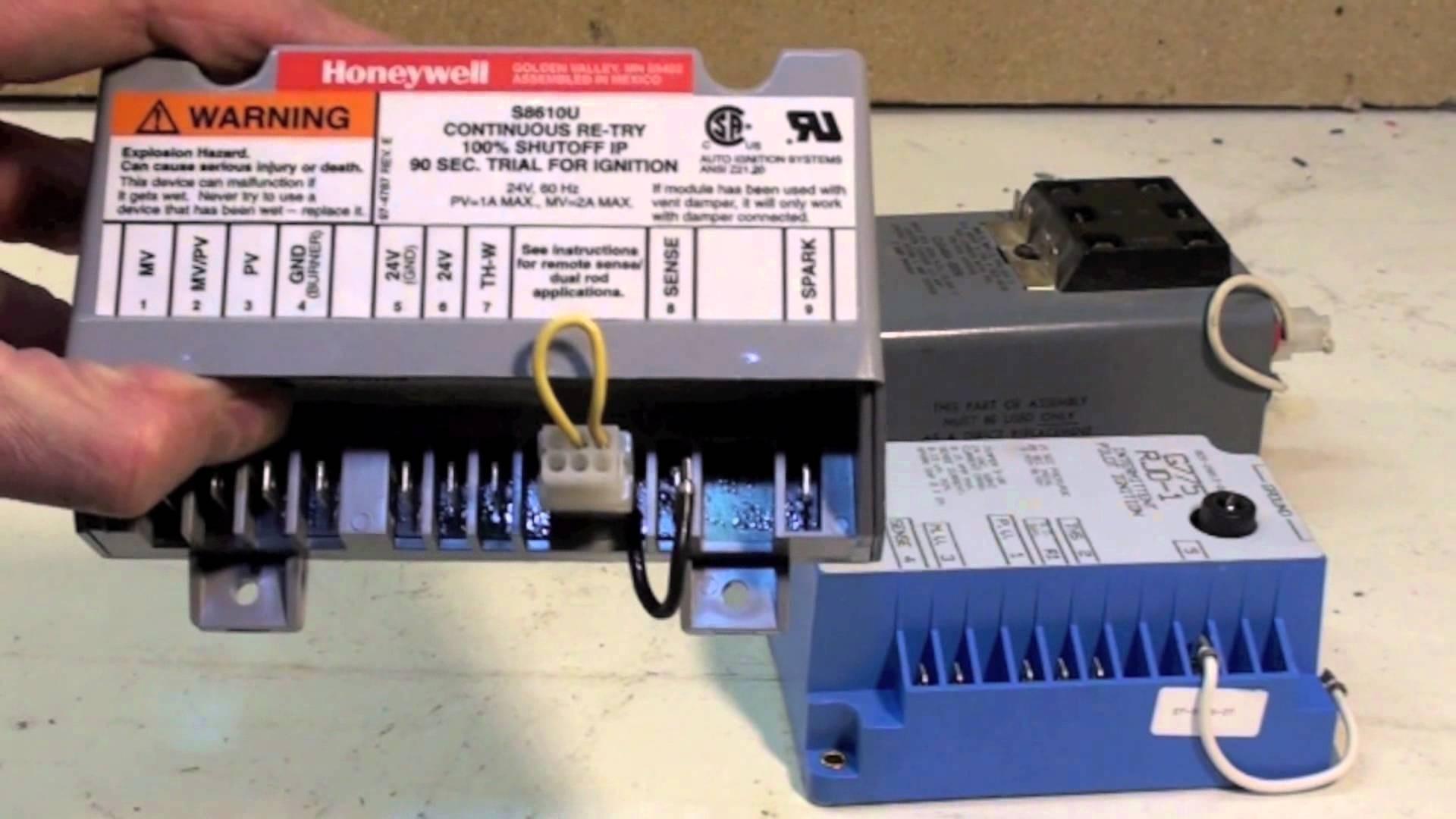 Honeywell S8610U Wiring Diagram | Wiring Library - Honeywell S8610U Wiring Diagram