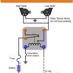 Horn Relay | Schematic Diagram   Relay Wiring Diagram