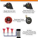 Horn Wiring Diagram For Motorcycle | Wiring Diagram – Train Horn Wiring Diagram