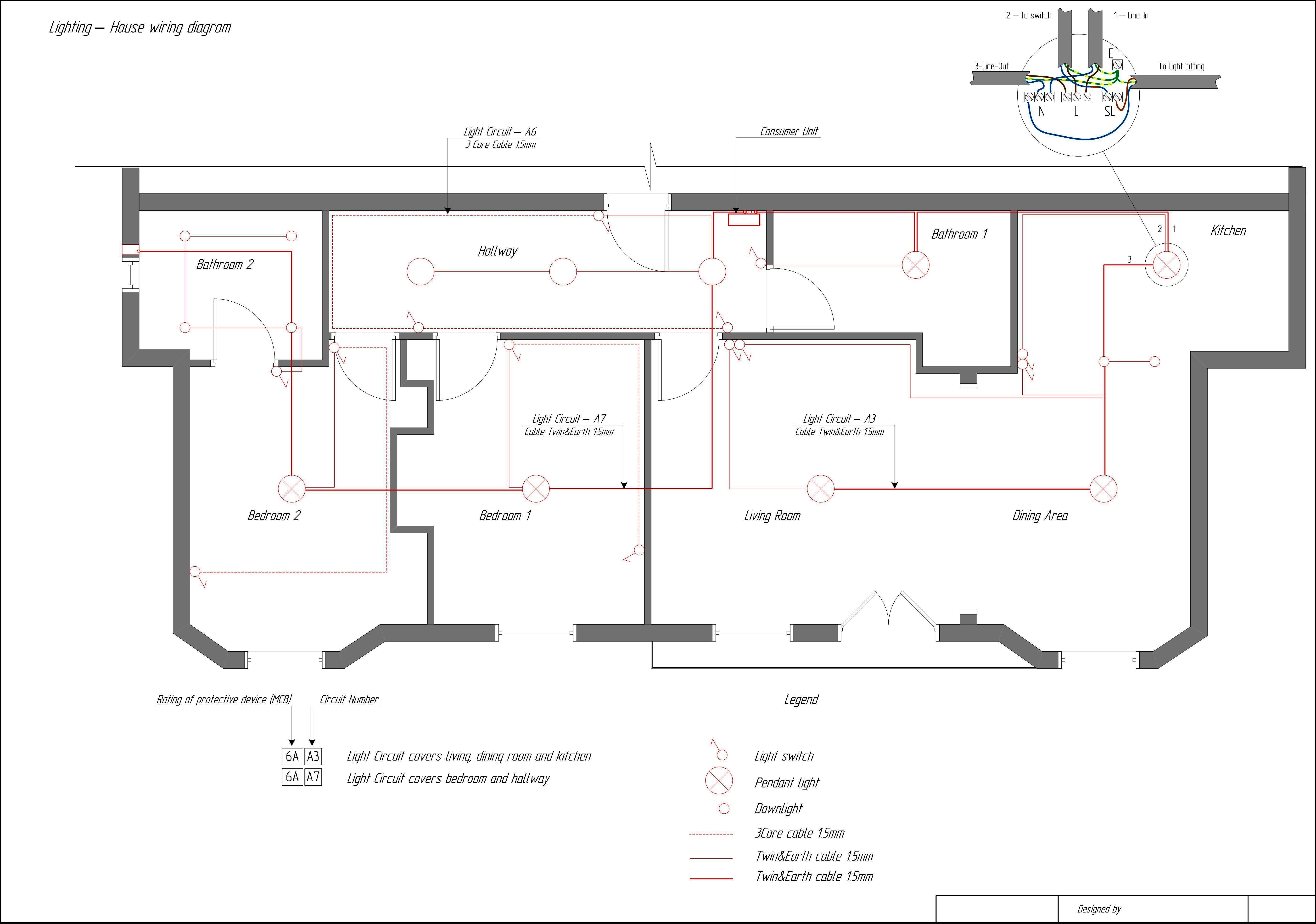 House Wiring Schematic - Wiring Diagram Data Oreo - Home Wiring Diagram