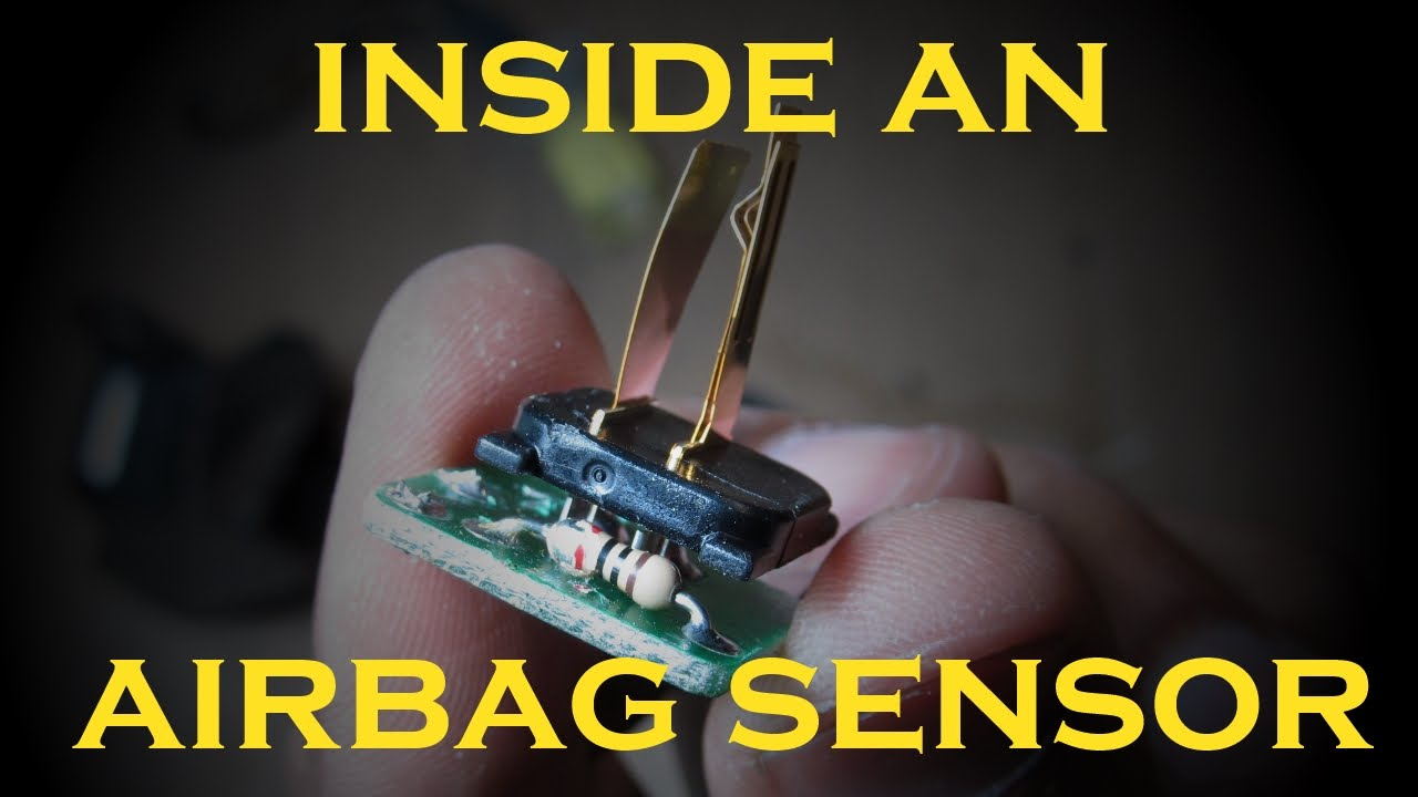How An Airbag Sensor Works - Mercury 8 Pin Wiring Harness Diagram