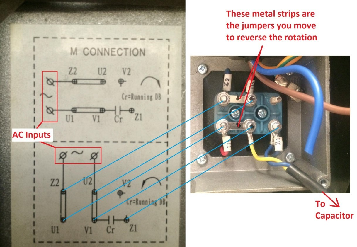 How Do I Connect A Direct On Line (Dol) Starter To A Single Phase Motor? - Single Phase Motor Wiring Diagram