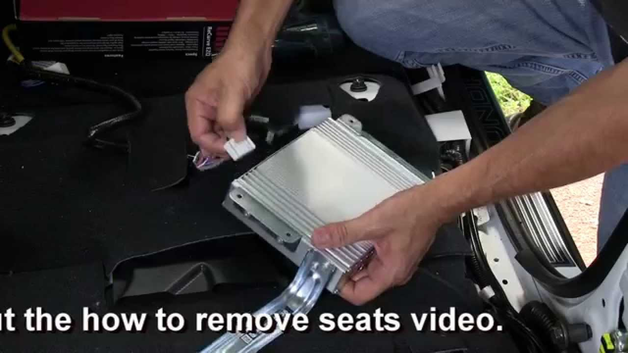 How To Add Amplifier (S) To Your Toyota Tundra W/ Jbl & Keep Your - Toyota Jbl Amplifier Wiring Diagram
