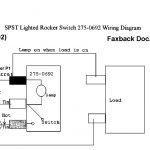 How To Hook Up An Led Lit Rocker Switch With 115V Ac Power W/o   Led Wiring Diagram