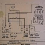 """How To Hook Up Power To A Delta 14"""" Radial Saw Magnetic Starter Box   Starter Wiring Diagram"""