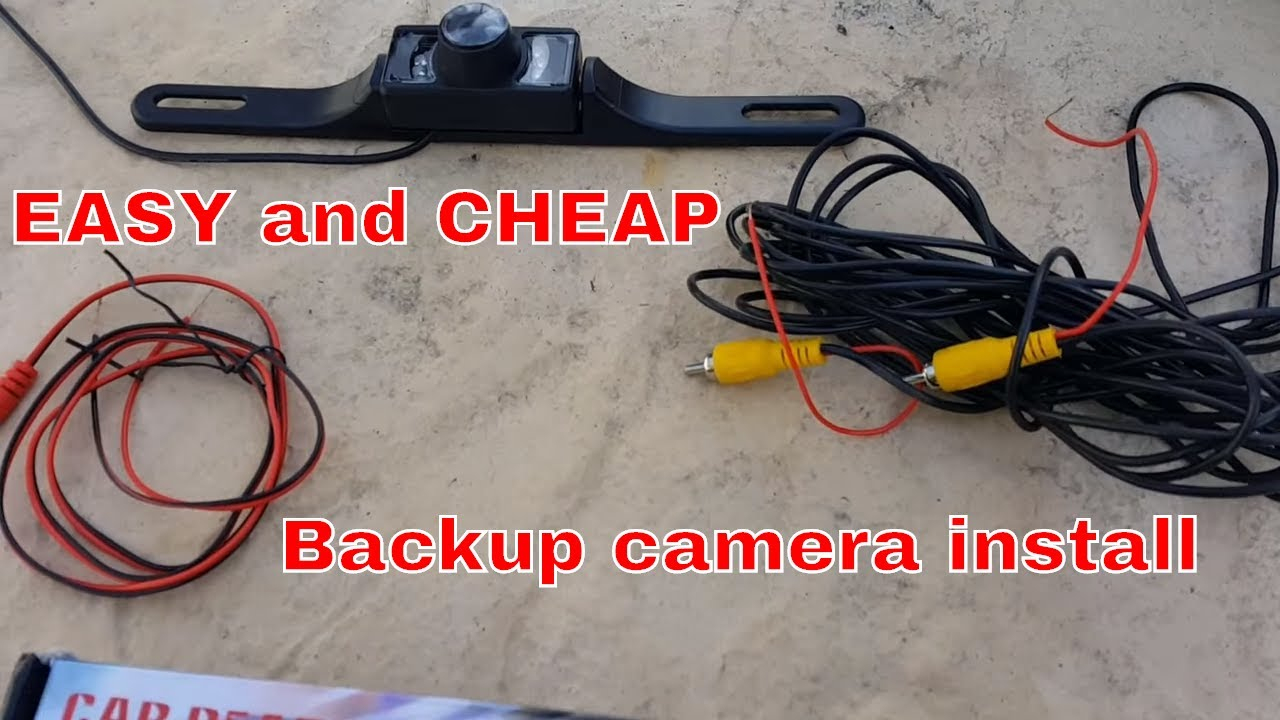 How To Install A Backup Camera On Dodge Ram - Youtube - Leekooluu Backup Camera Wiring Diagram