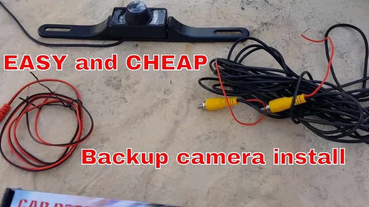 How To Install A Backup Camera On Dodge Ram - Youtube - Peak Backup Camera Wiring Diagram