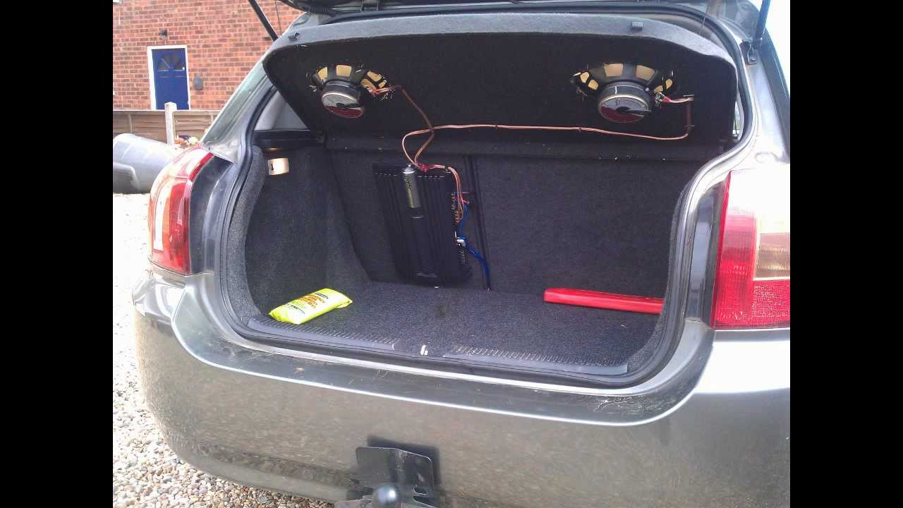 How To: Install A Car Amplifier & Wiring - Youtube - Car Amp Wiring Diagram