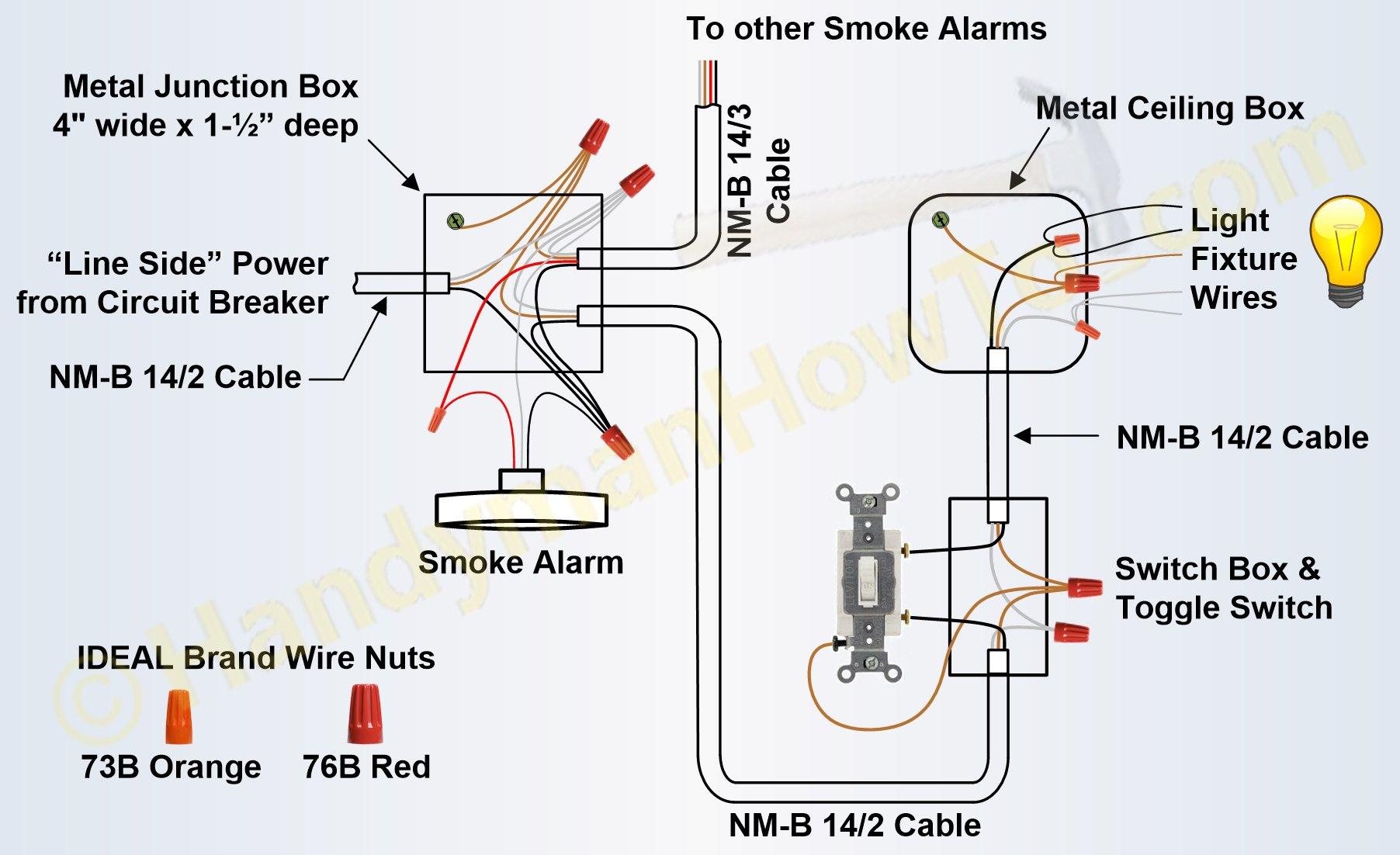 4 Wire Smoke Detector Wiring Diagram | Wiring Diagram