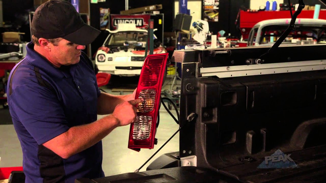 How To Install A Peak Wireless Back-Up Camera For Your Truck Feat - Peak Backup Camera Wiring Diagram