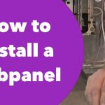 How To Install A Subpanel   Youtube   100 Amp Electrical Panel Wiring Diagram