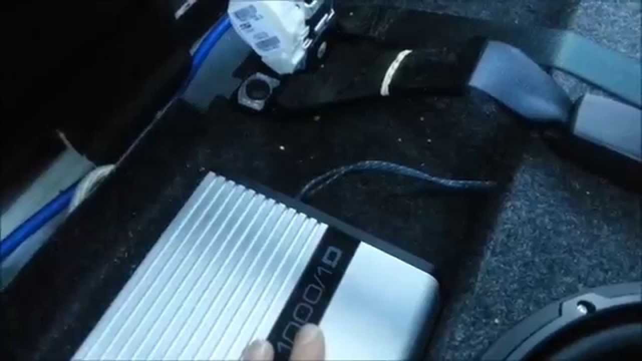 How To Install A Subwoofer And Wire A Amplifier In A Dodge Ram 1500 - 2014 Dodge Ram Wiring Diagram