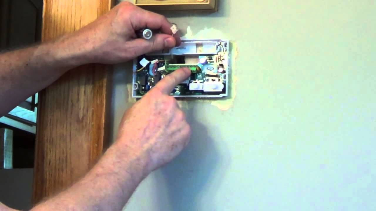 How To Install A Thermostat - White Rodgers Thermostat - Youtube - White Rogers Thermostat Wiring Diagram