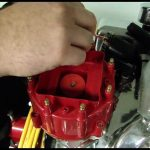 How To Install Accel Hei Corrected Distributor Cap Video   Pep Boys   Chevy 350 Ignition Coil Wiring Diagram