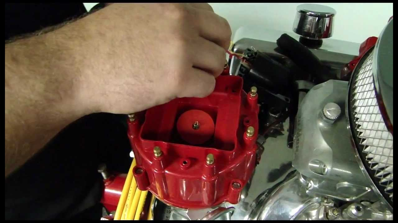 How To Install Accel Hei Corrected Distributor Cap Video - Pep Boys - Chevy 350 Ignition Coil Wiring Diagram
