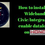 How To Install Aem Wideband On Honda Civic Eg/integra & Enable Data – Aem Wideband Wiring Diagram