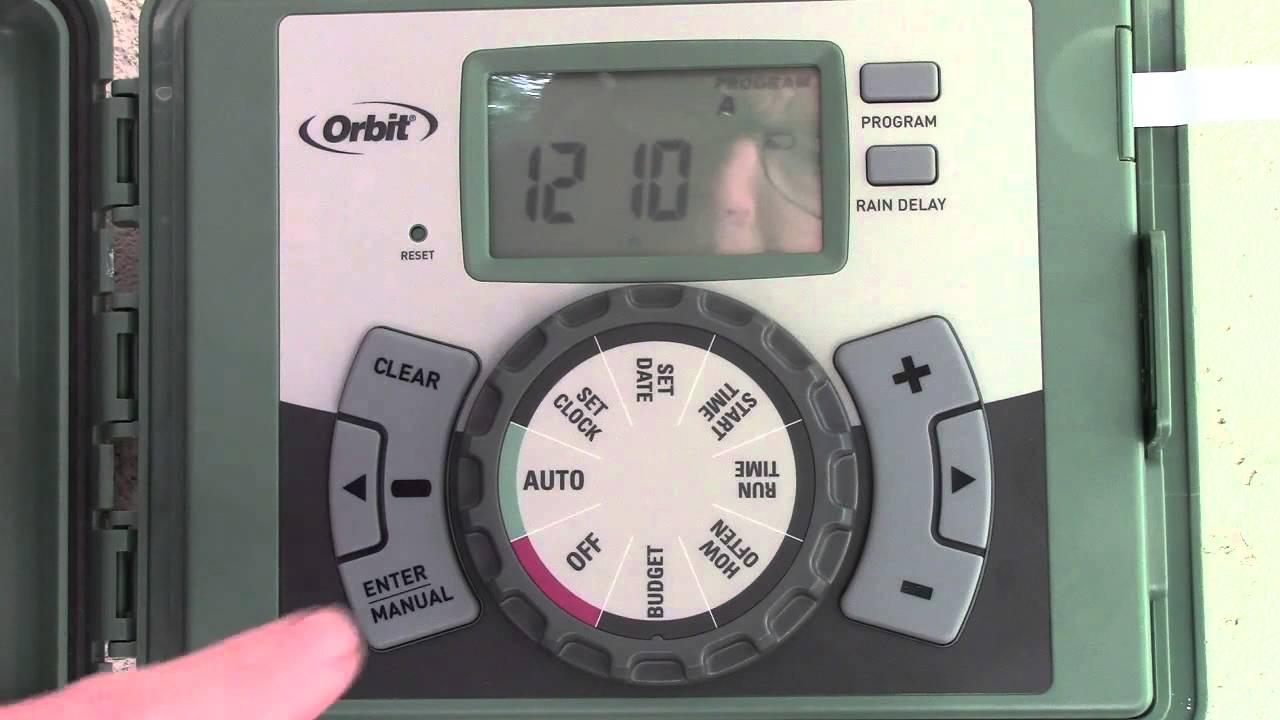 How To Install And Program An Orbit Easy Set Sprinkler Timer - Youtube - Orbit Sprinkler Wiring Diagram
