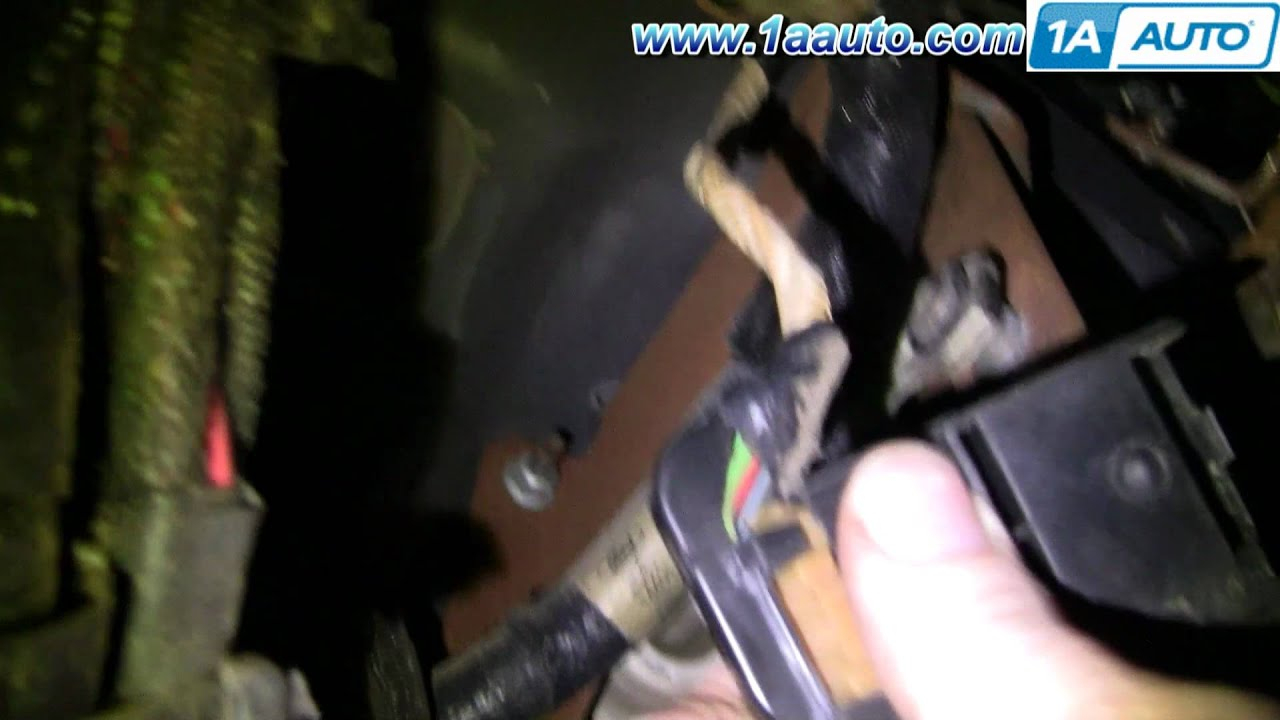 How To Install Replace Brake Light Pedal Switch Ford F250 F350 1999 - Brake Light Switch Wiring Diagram