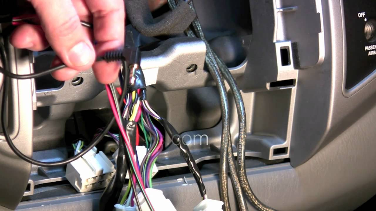 How To Install Steering Wheel Controls In Toyota Tacoma Double Acces - Steering Wheel Radio Controls Wiring Diagram